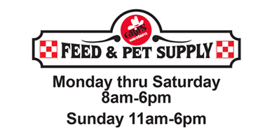 grifs feed and pet supply special